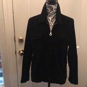 Velvet shirt/jacket.